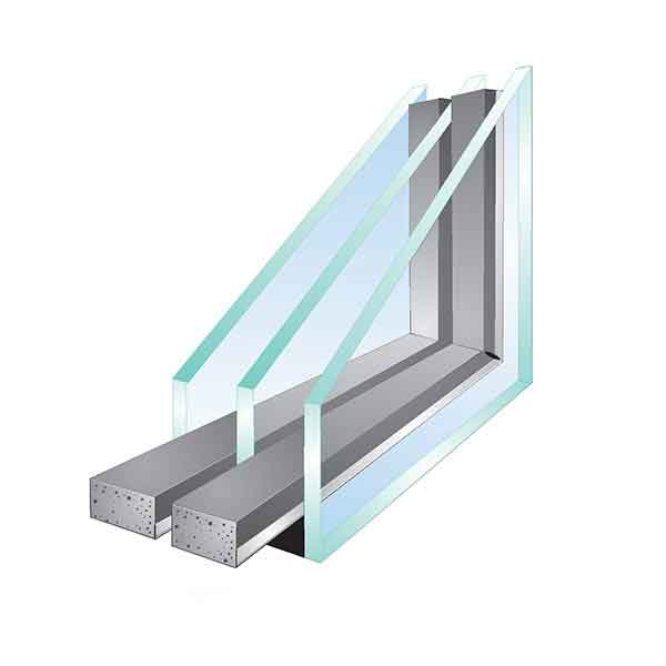 Glazed Insulated Units : Triple glazed insulating glass unit krishna tuff